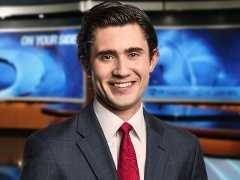 Blake Hanson may not dress up as a pumpkin, but he is still up bright and early bringing you the latest news every morning.
