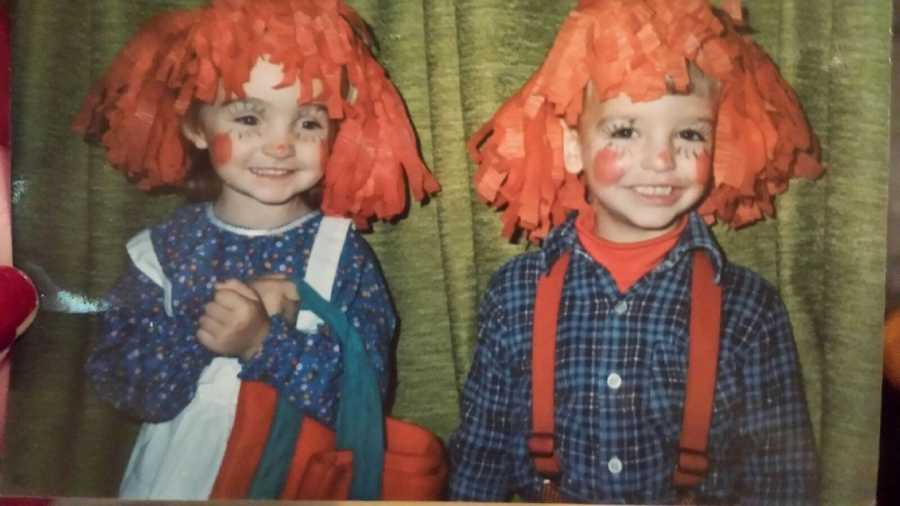 Raggedy Ann and Andy. The name alone should give away who this WDSU reporter is.