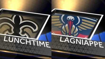 Saints-Pelicans lunchtime lagniappe