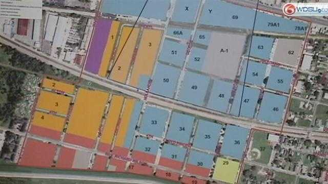 Zoning changes proposed for empty lots around the airport