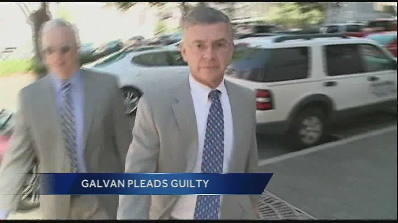 Dr. Peter Galvan faces a maximum of five years in a prison and a $250,000 fine. (Oct. 23, 2013)
