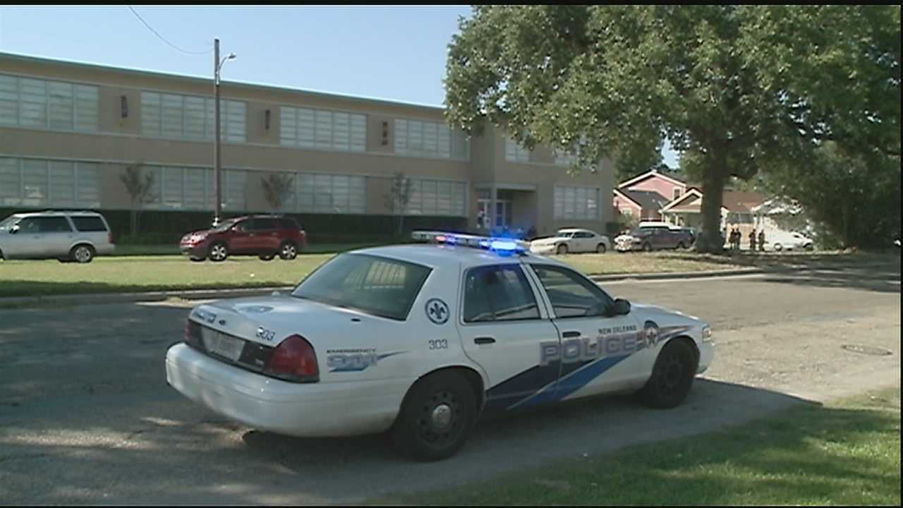 St. Augustine High School was briefly placed on lockdown Friday.