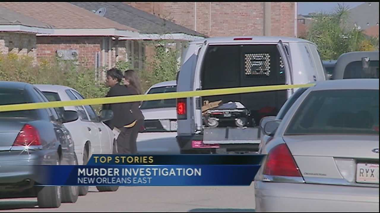 New Orleans police are investigating a homicide in New Orleans East, where a man's body was found on Friday morning.