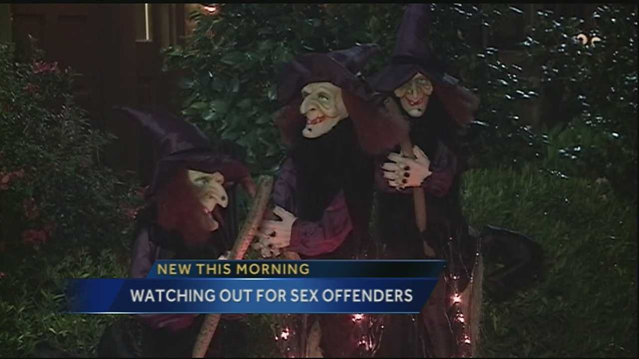 There are programs in place to keep kids safe from registered sex offenders this Halloween.