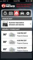 The day's weather forecast along with Jay Gallé's videocast. Download the app now foriOSandAndroid.