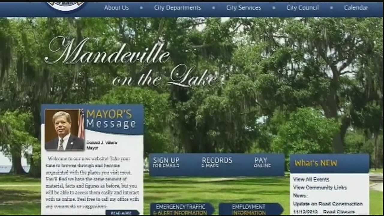 When the city of Mandeville revamped its website, a link to the state ethics commission disappeared from the front page.