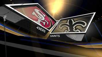 Here is the injury report and list of inactives submitted by the Saints and 49ers.