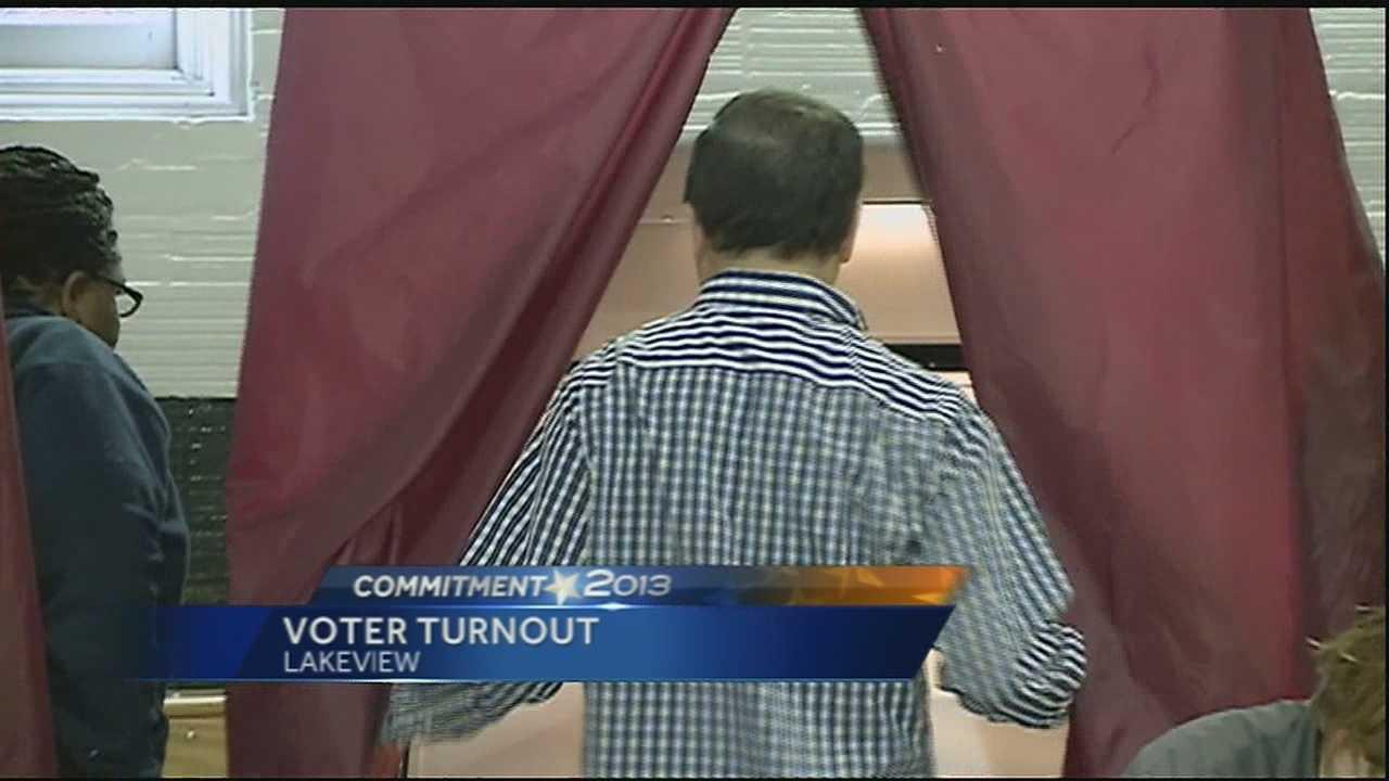 Polls close at 8 p.m.