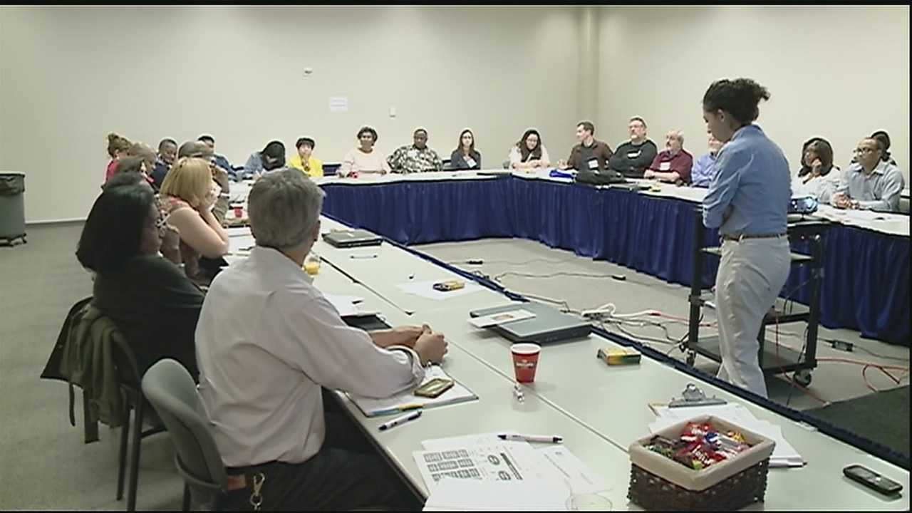 About 250 community leaders met to discusses the problems plaguing the city Saturday.