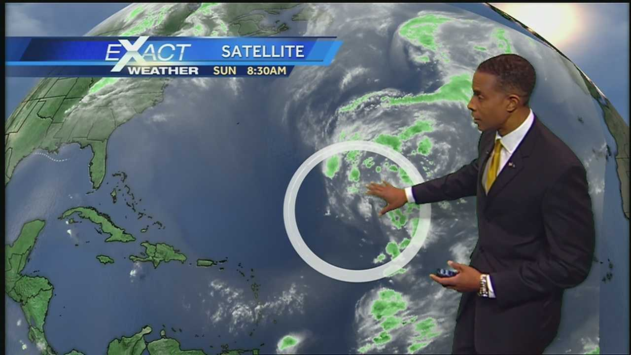 Here's the latest in the tropics from WDSU Exact Weather Meteorologist Damon Singleton.