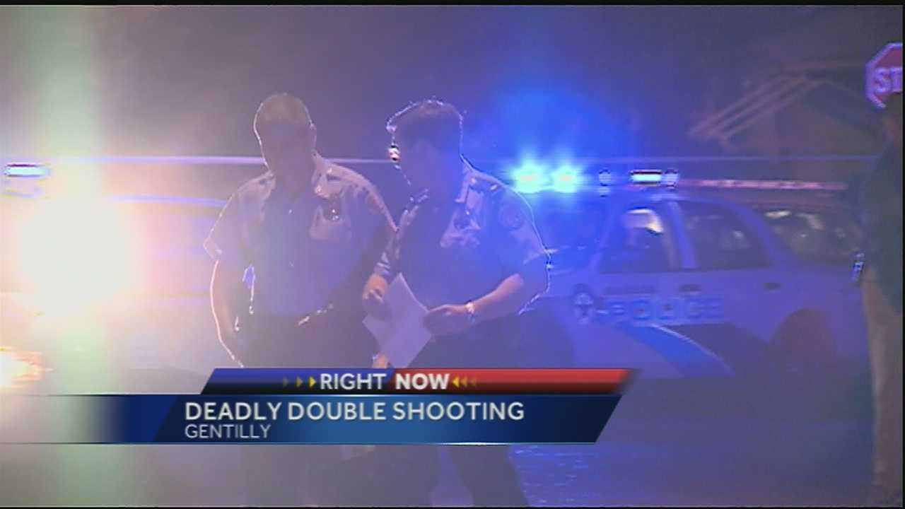 Two people were killed and three were injured in the shootings Wednesday.