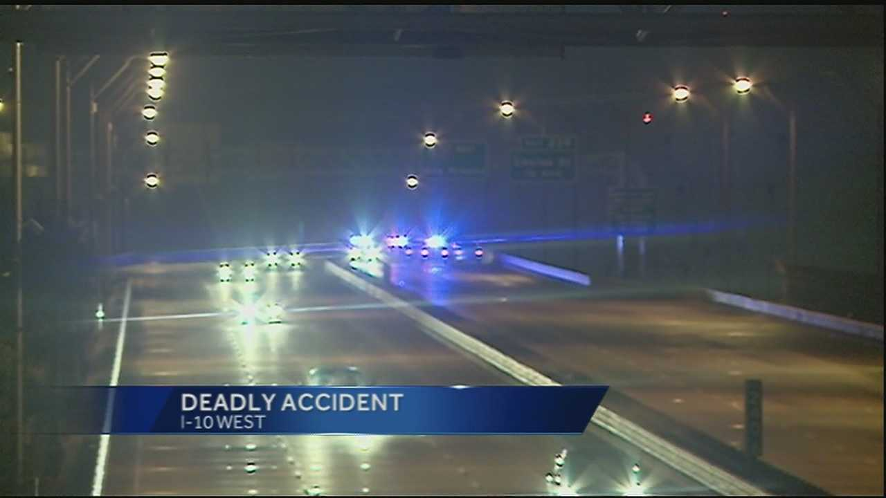 Overnight accident leaves adult dead and child in critical condition