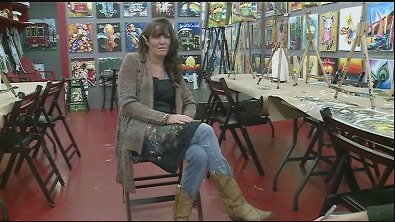 The New Orleans artist was just blocks from home last Monday when two unknown men attacked and robbed her in the 8100 block of Jeanette Street in Carrolton.