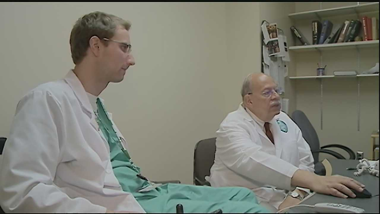 A Tulane University medical student, paralyzed from the neck down, is on his way to accomplishing his goals, despite a medical setback
