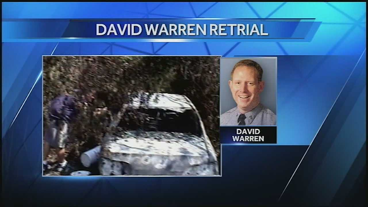David Warren was convicted in Dec. 2010 on charges of his involvement in the killing of Henry Glover in the aftermath of Katrina, but in Dec. 2012 he was granted a new trial.