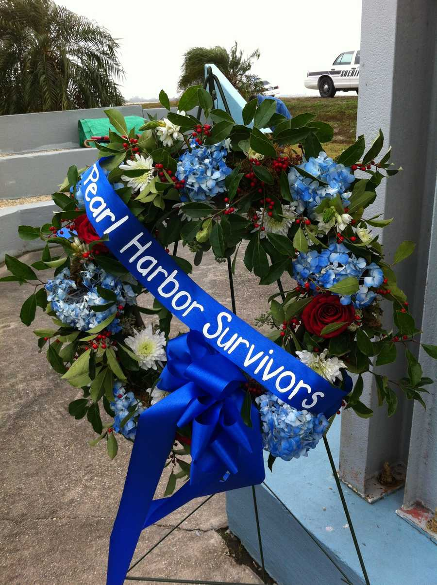 Pearl Harbor survivors were honored Saturday at Pearl Harbor Park Chalmette.