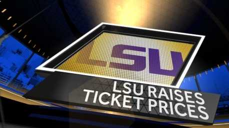 LSU raises ticket prices