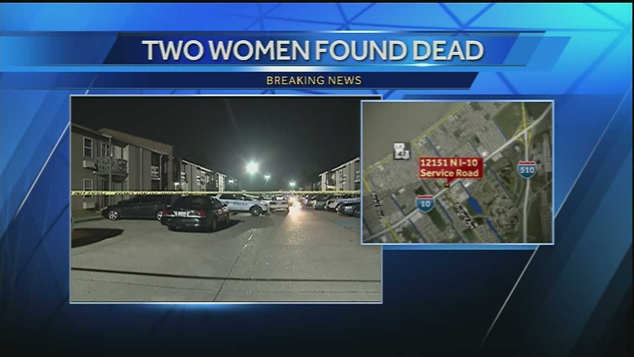 New Orleans police are investigating the deaths of two women Monday morning in New Orleans East.