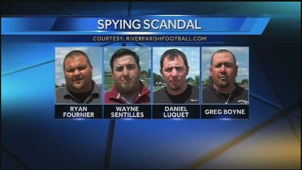 Nov. 2013: A local football team story got national attention after four coaches were charged with spying on a rival team. The Lafourche Parish Sheriff's office says four coaches were charged with offenses against intellectual property. Read story
