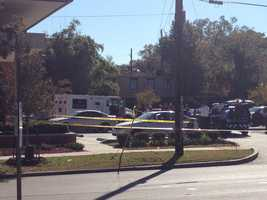New Orleans police said one person was killed in a shooting in the Carrollton area on Wednesday morning.