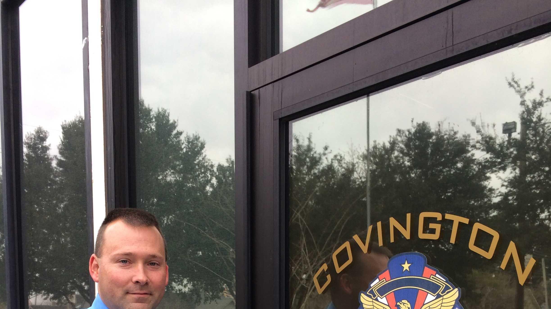 covington police new uniforms