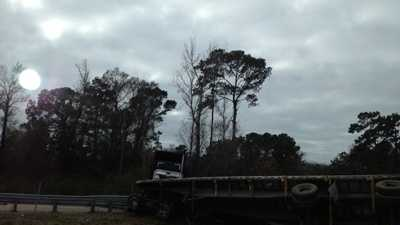 Louisiana State Troopers responded to the crash, and no information was immediately available.