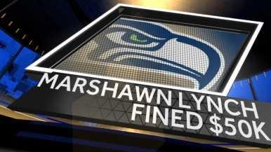 Marshawn Lynch fined