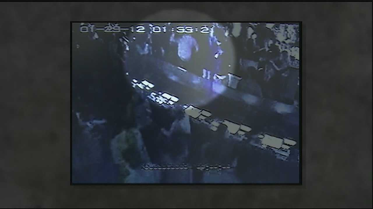 Surveillance video at Harrah's Casino recorded an altercation involving a Plaquemines Parish Sheriff's captain.