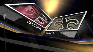 Week 1 – Saints 23, Falcons 17The Saints got the season started with a goal line stand as New Orleans held off the Falcons with a Roman Harper INT for a 23-17 victory.Drew Brees was magnificent for New Orleans, completing 26-of-35 passes for 357 yards with two touchdowns and one pick. One of his scores went to Jimmy Graham – the first of 16 touchdown connections between the two in the regular season.The win was thought to be a big one over an NFC heavyweight. Little did anyone know Atlanta would go on to win only four games.