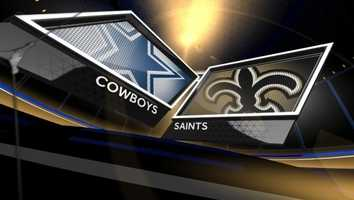 Week 10 – Saints 49, Cowboys 17New Orleans set an NFL record with 40 first downs and a franchise record with 625 yards in a Sunday Night Football manhandling of the Cowboys.Drew Brees threw four touchdowns, but he was upstaged to some degree by running back Mark Ingram's coming out party with 145 rushing yards and a touchdown.Pierre Thomas added 87 yards and a score on the ground in a dominant rushing performance.The only downer was two more missed field goals by Garrett Hartley.