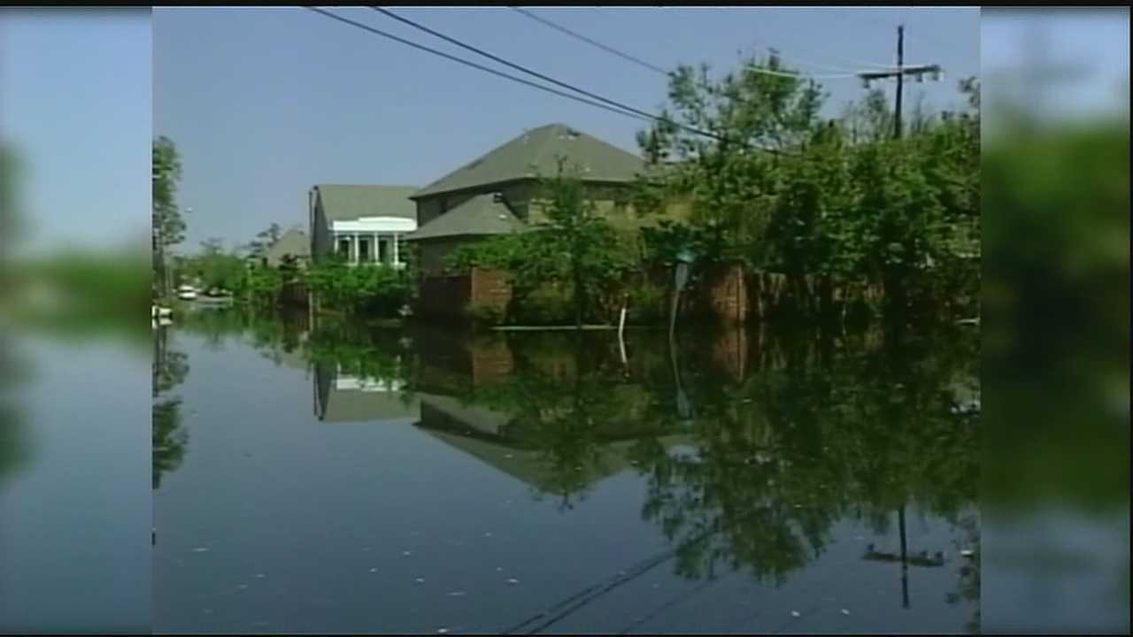 Katrina flooding case