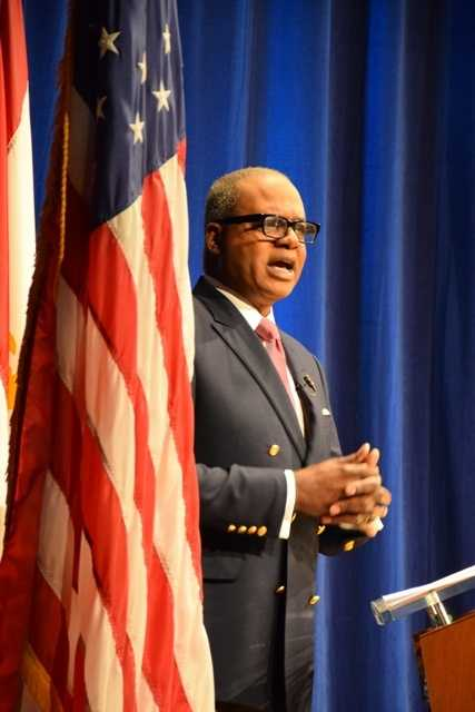 Norman Robinson moderated the Commitment 2014 mayoral debate, which will air Jan. 17 at 7 p.m. and again on Jan. 19 at 10:30 p.m. on WDSU.