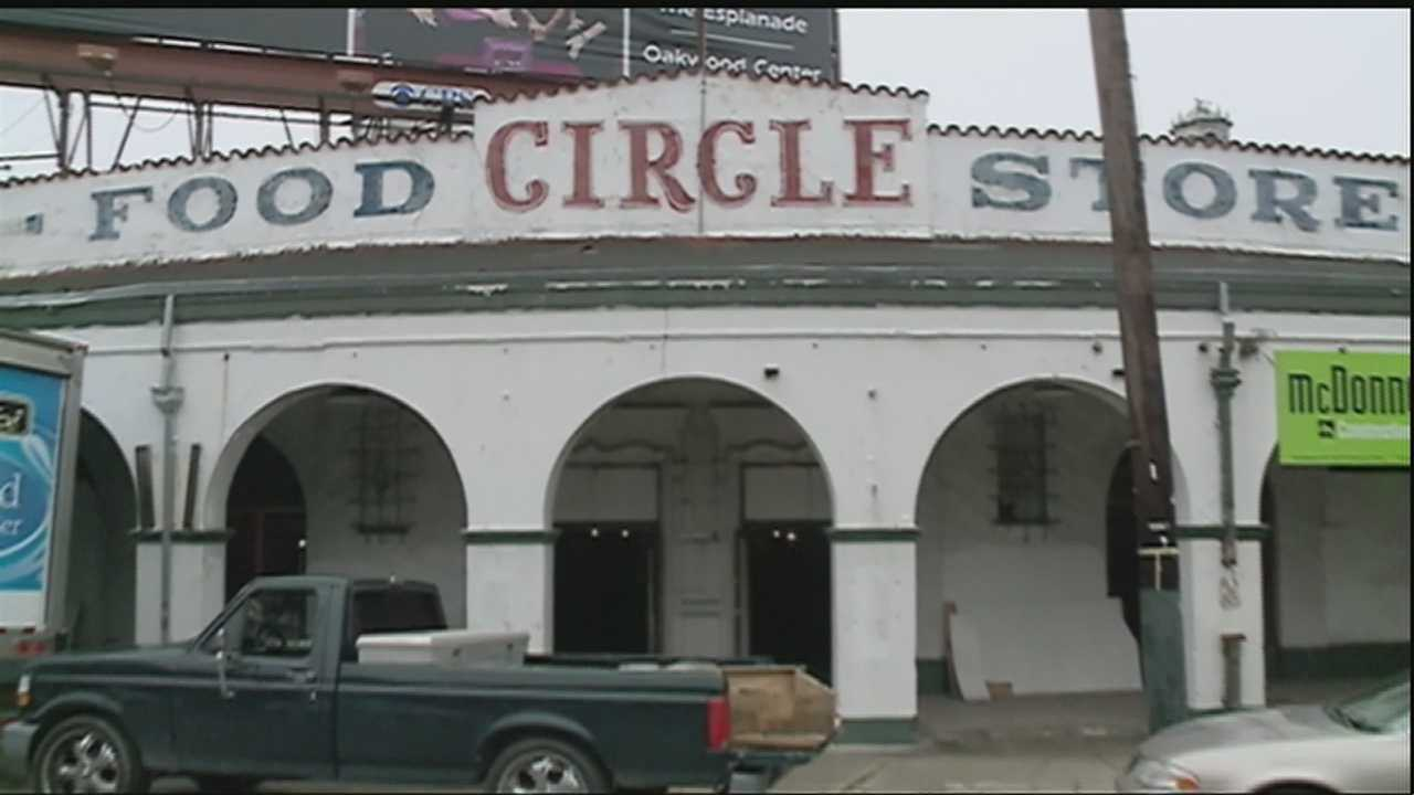 The historic Circle Food Store in the Seventh Ward reopened Friday after being badly damaged by Hurricane Katrina.