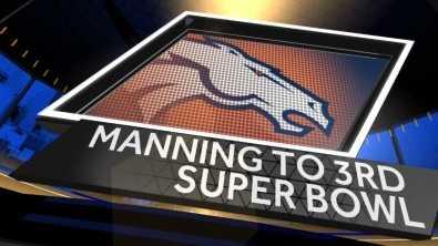 Peyton Manning to 3rd Super Bowl