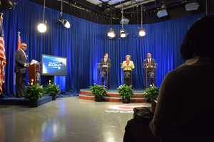 The candidates for the open Orleans Parish Council at Large seat meet in their first televised debate.