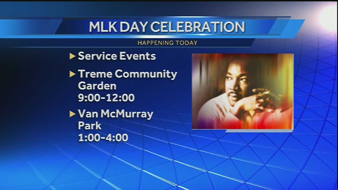 A preview of events celebrating the life and legacy of Dr. Martin Luther King Jr.