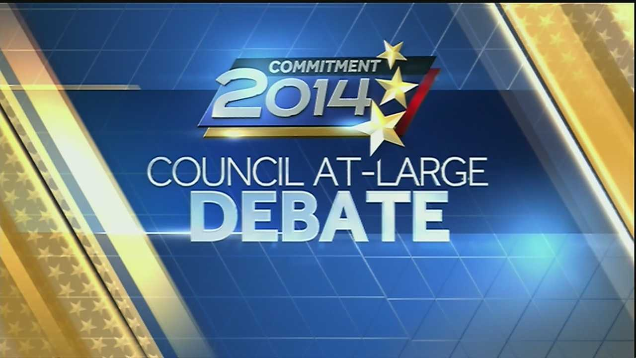 Commitment 2014 Council At-Large Debate