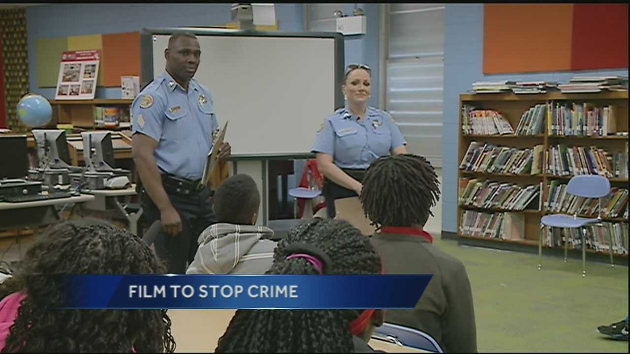 Tuesday, members of the New Orleans Police Department urged kids to think before they act by allowing kids to watch a new documentary.
