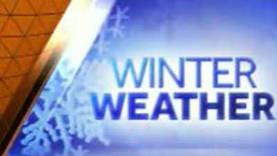 winter weather graphic