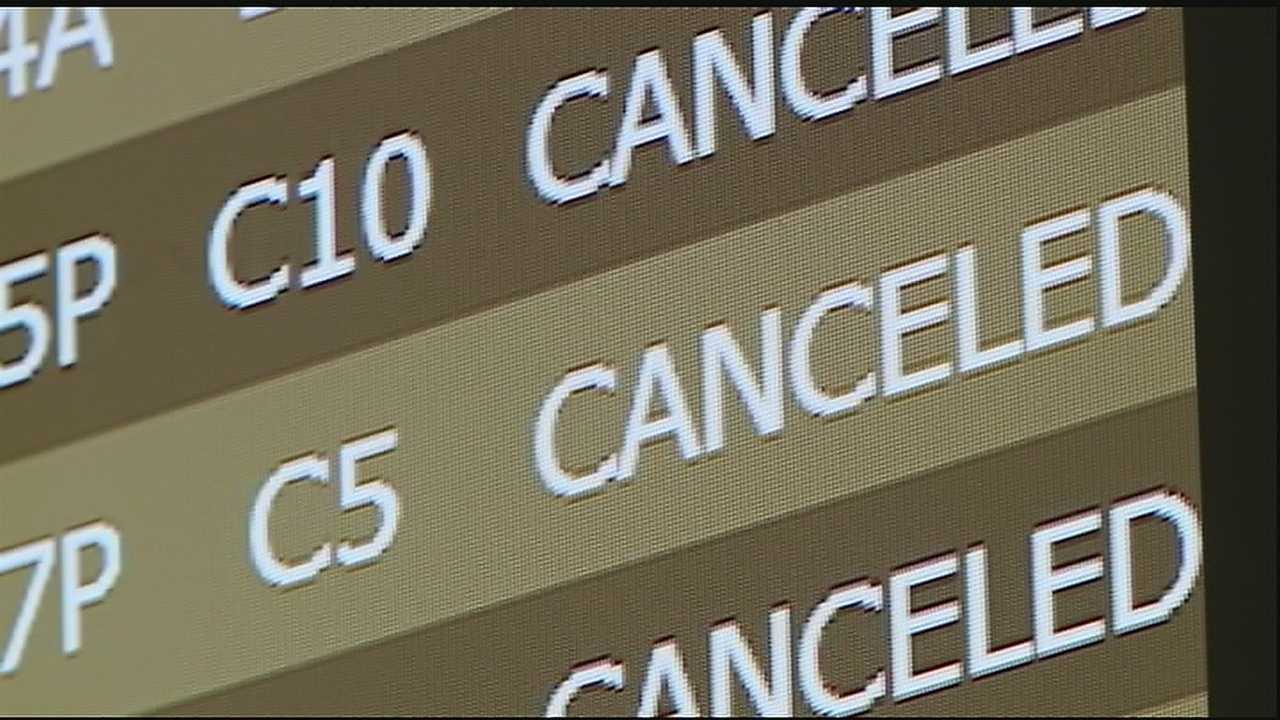 Flights cancelled at Armstrong Airport