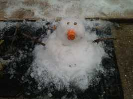 From: Angie SchutteTitle: Cajun Snowman