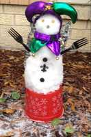 From: Philip HebertTitle: Mardi Gras Snow Man