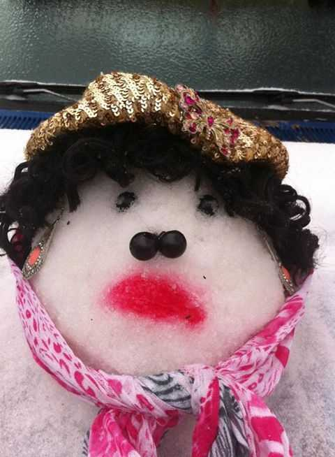 From: Magnolia, Miss.Title: Snow Diva