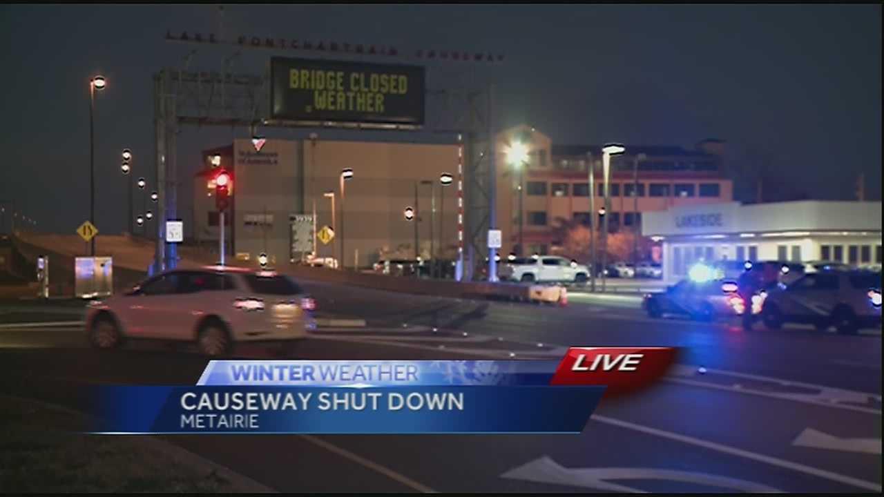 Causeway closed