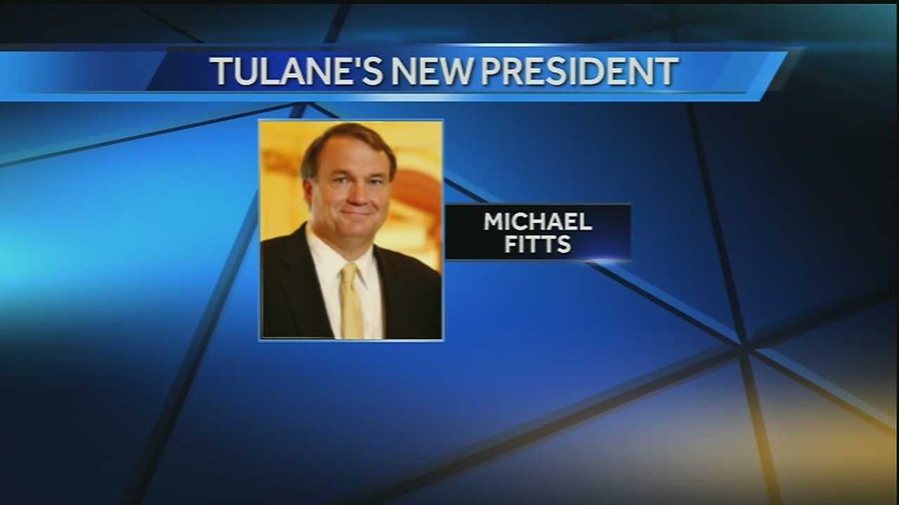 Michael Fitts is named Tulane University's 15th president.