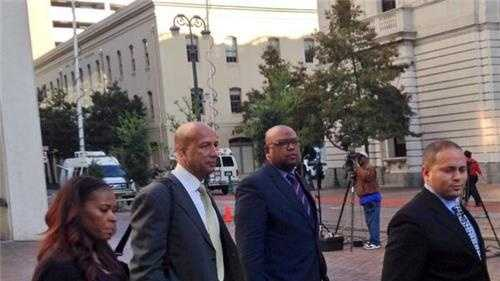 Former New Orleans Mayor Ray Nagin leaves federal court Feb. 5, 2014.
