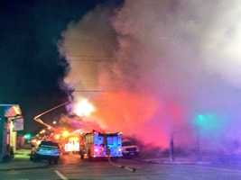 The fire happened in the 2200 block of St. Ann Street about 5 a.m. near Dooky Chase's restaurant. The famous restaurant did not suffer any damage.