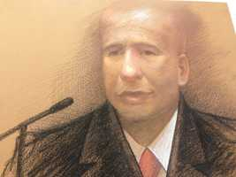 Sketch by Carol PeeblesFormer New Orleans Mayor Ray Nagin is back on the stand in his federal corruption trial.