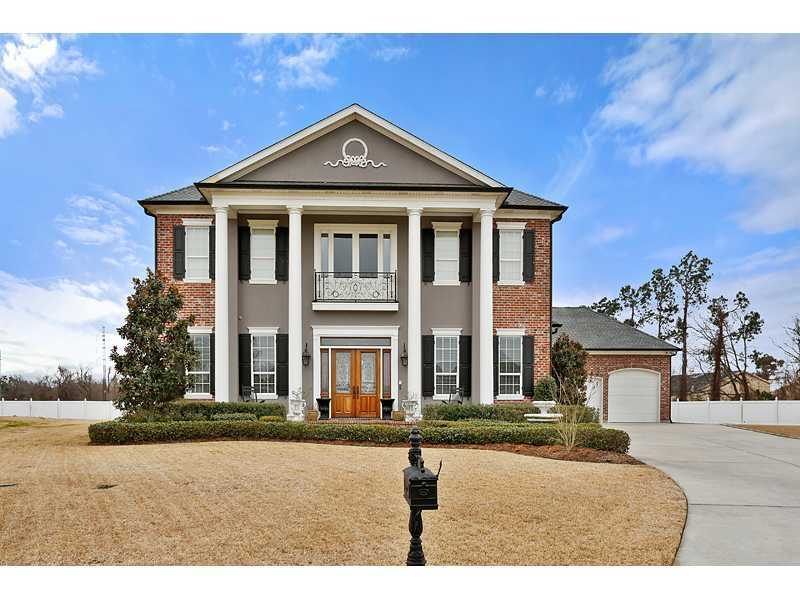 Gardner Realtors shows this luxurious custom-built home in Belle Chasse, which is listed at $775,000. For more information contact them by email at info@gardnerrealtors.com or by phone: 800-566-7801.