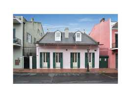 Gardner Realtors shows this very rare and magnificent Spanish-Creole cottage in the French Quarter, which is listed at $2,795,000. For more information contact them by email at info@gardnerrealtors.com or by phone: 800-566-7801.